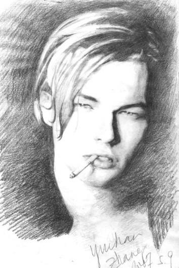 Leonardo DiCaprio by ZoeZhang